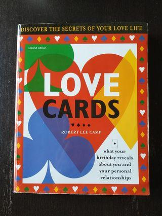 LOVE CARDS - what your birthday reveals about you and your personal relationships by Robert Lee Camp second edition book