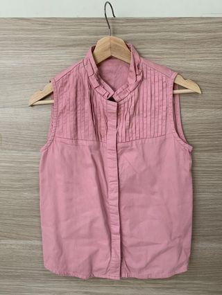 Pink Top sleveless