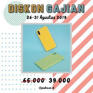 [DISKON GAJIAN 40% FOR: Iphone X/XS yellow, XS Max Green]