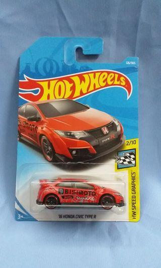 Hot Wheels Honda Civic Type R Hotwheels