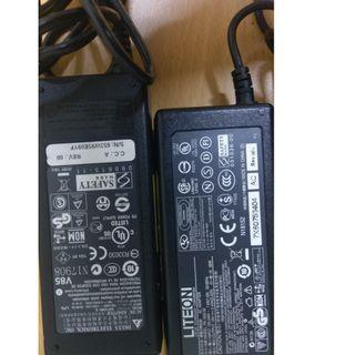acer aspire 3410筆電 變壓器laptop adapter  ($200 for 2 items)