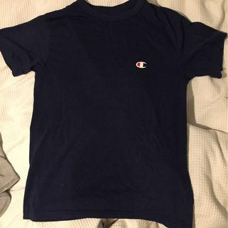New champion navy shirt
