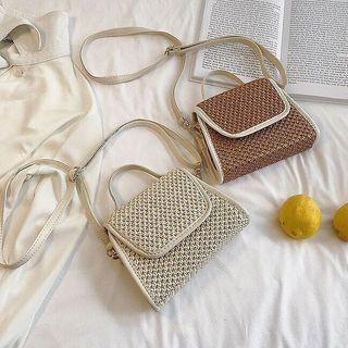 FREE POSTAGE Simple Knitted Sling Bag