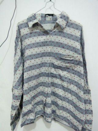 Cotton Ink Oversized Shirt