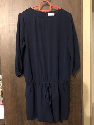 P&Co Navy Blue Jumpsuit