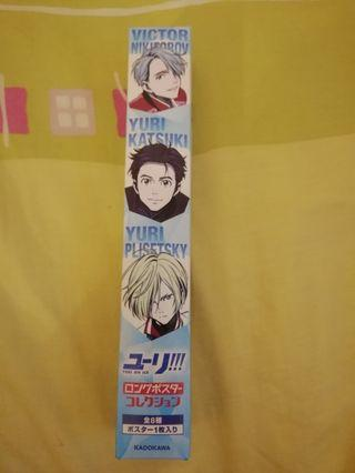 Yuri on Ice - offical merchandise (long poster)