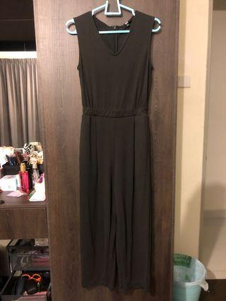 Uniqlo Jumpsuit - Dark Grey
