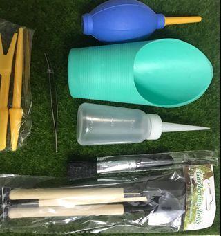 Terrarium tool set / gardening tool