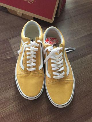 Vans old skool ochre / yellow