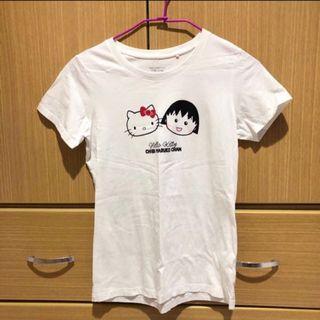 Hello Kitty x 櫻桃小丸子短袖上衣