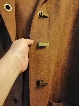 Wool Trench Coat for Men