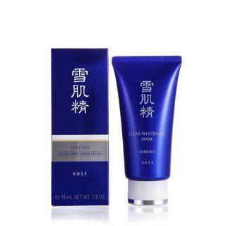 KOSÉ Clear whitening mask淨白黑面膜