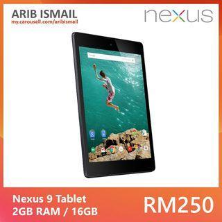 Nexus 9 Tablet / Nvidia Tegra K1 / 16GB / WiFi Version