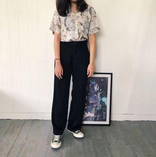 日式古著襯衫