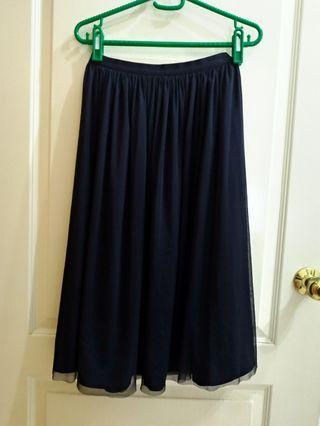 Uniqlo 兩面穿中長裙