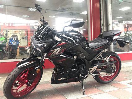 [出售]2016/17 總代理 Kawasaki Z300 ABS 只跑13078公里 新車3年保固中 保證原漆 無事故 無調表 否則原價收回 免頭款 可分期