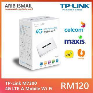 TP-Link M7300 4G LTE-Advanced Mobile Wi-Fi