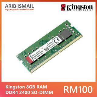 Kingston 8GB RAM DDR4 2400MHz SO-DIMM