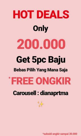 ✨HOT DEAL ONLY 200K GET 5PC