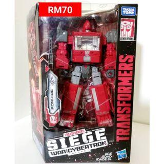 Ironhide Deluxe Class Transformers Siege War For Cybertron Trilogy RM70