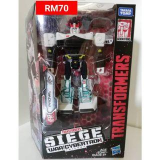 Prowl Deluxe Class Transformers Siege War For Cybertron Trilogy RM70