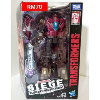 Skytread Deluxe Class Transformers Siege War For Cybertron Trilogy RM70