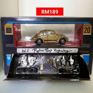Transformers Studio Series Bumblebee Vol 2 Retro Pop Highway RM189