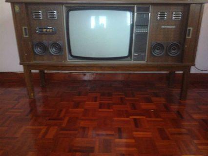 Vintage / Antique Coloured TV
