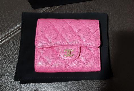 Chanel sweet pink wallet