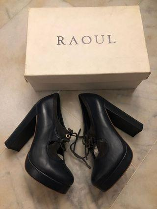 Raoul leather heels