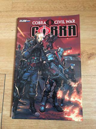 Cobra buku komik civil war