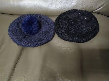 NET毛帽 貝蕾帽