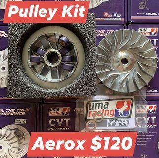 UMA Pulley Kit for Aerox NVX155 (inc. Installation)