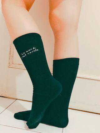 Kaos Kaki / Socks Hitam