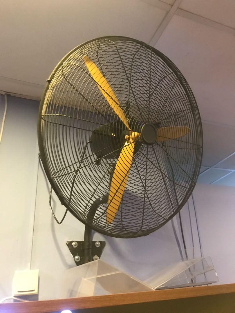 26inch industrial fan (Very New!)