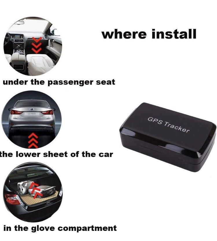 B0088 Magnetic GPS Tracker,GPS/GSM/GPRS Tracking System with