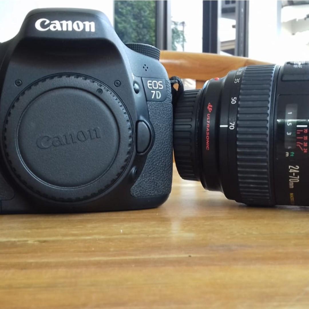 Canon EOS 7D dan Lensa Canon Zoom Lens EF L-Series