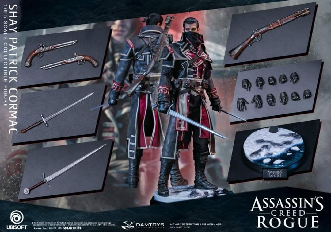 Damtoys Dam Toys - DMS011 - 1/6 Scale Figure - Shay Patrik Cormac Assassin Creed Rogue