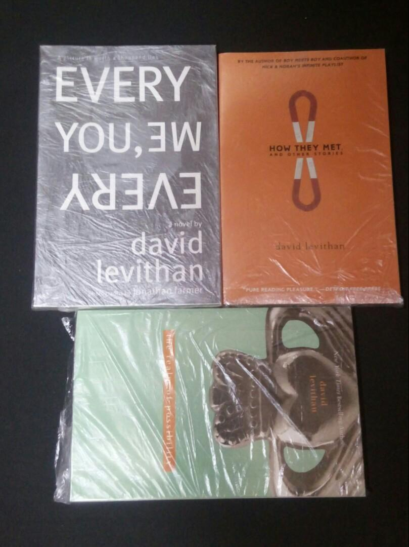 David Levithan's - Every You, Every Me; How They Met & Other Stories; the realm of possibility