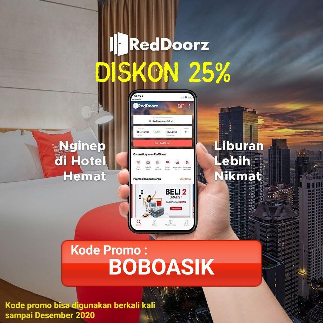 Diskon 25 Seluruh Reddoorz Indonesia Dengan Kode Promo Boboasik Properti Rental Di Carousell