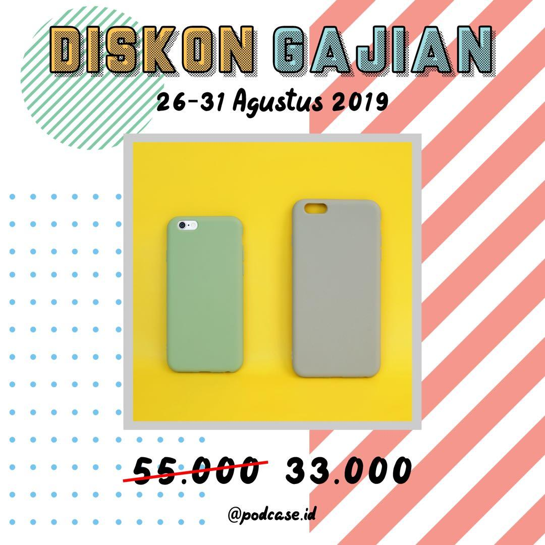 [DISKON GAJIAN 40% FOR: Iphone 6/6s green and 6+/6s+ grey]