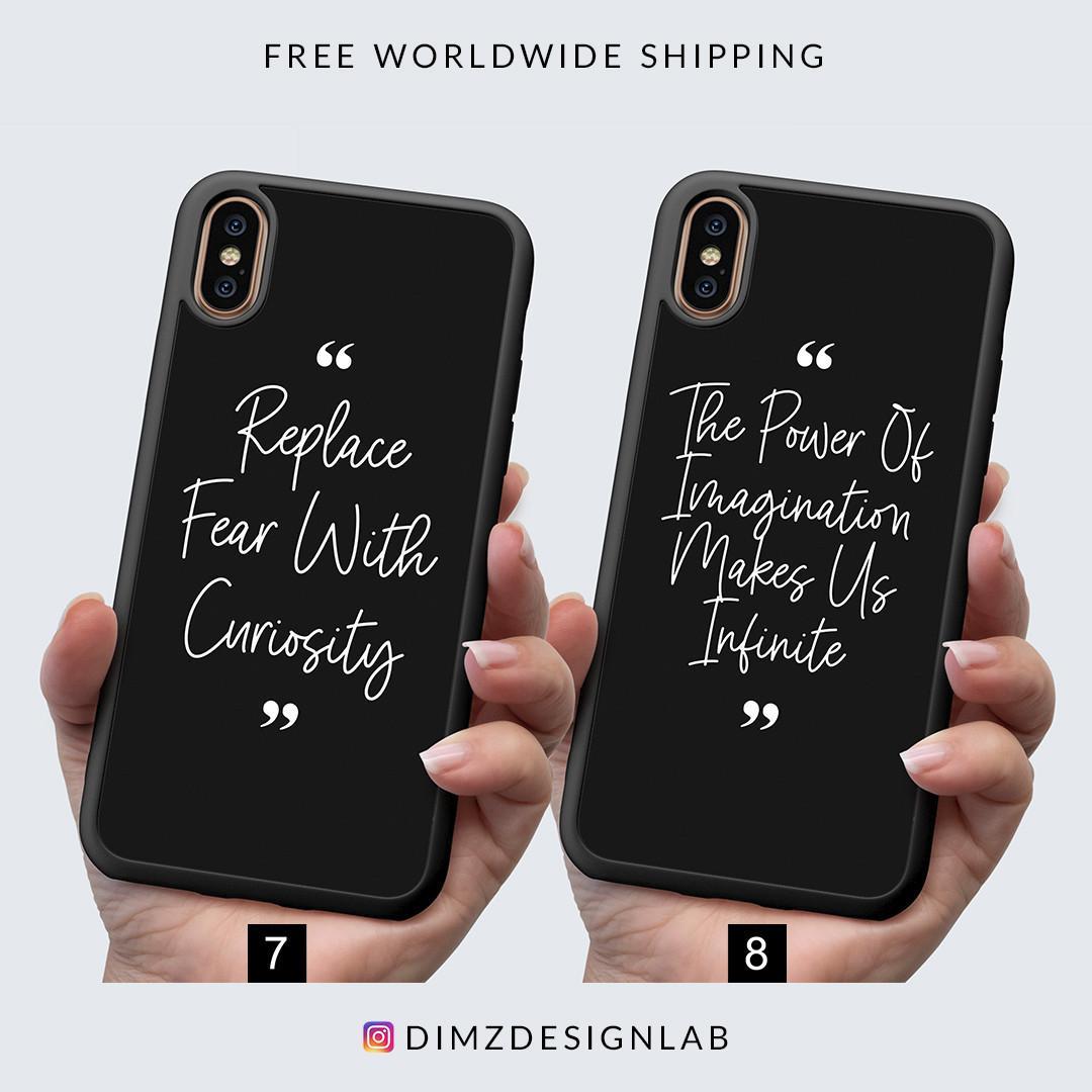 Entrepreneur Motivational Quotes iPhone XS Max XR X 8 Plus 8 Samsung Galaxy S9 Plus S9 Note 8 S8 Plus S8 Case Cover