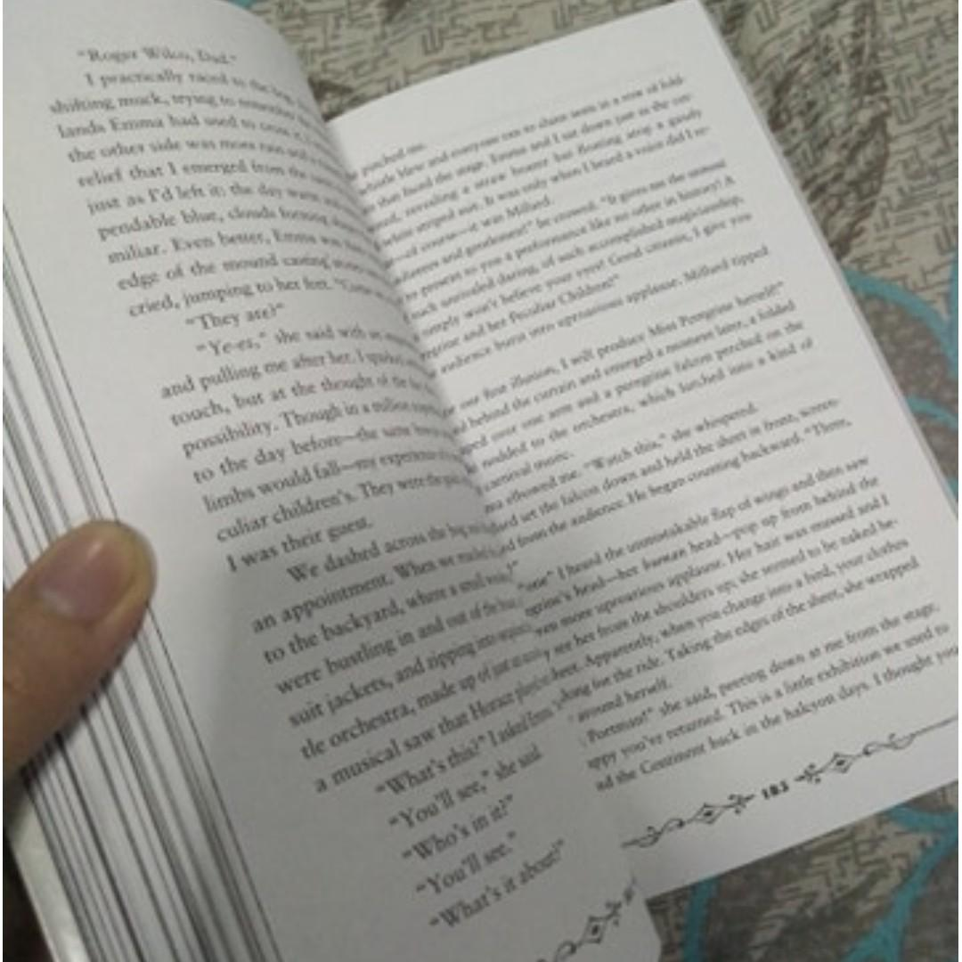 [FOR SALE] Miss Peregrine's Home for Peculiar Children by Ransom Riggs (PAPERBACK; FICTION)