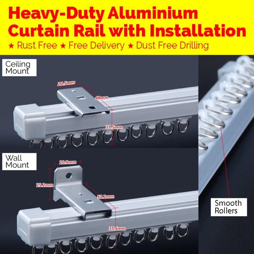 Heavy-Duty  Curtain Tracks  Supply & Installation