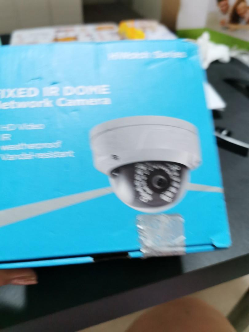 2.8 mm Hikvision IPC-D120 2.8MM 2 MP CMOS Outdoor IP Network CCTV Dome Camera White
