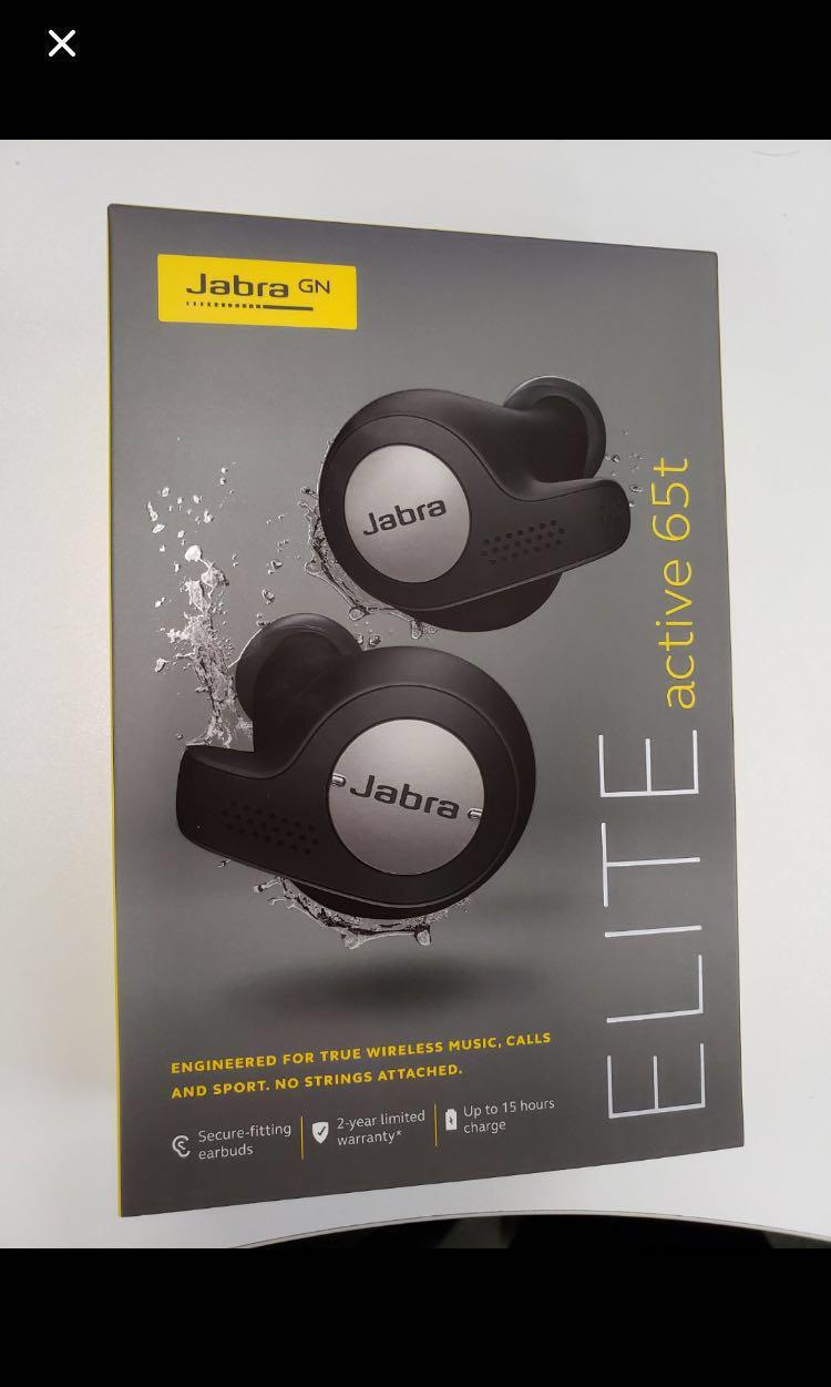 Jabra Elite Active 65t Engineered for true wireless music, Active Noise Cancellation calls and sport. No strings attached
