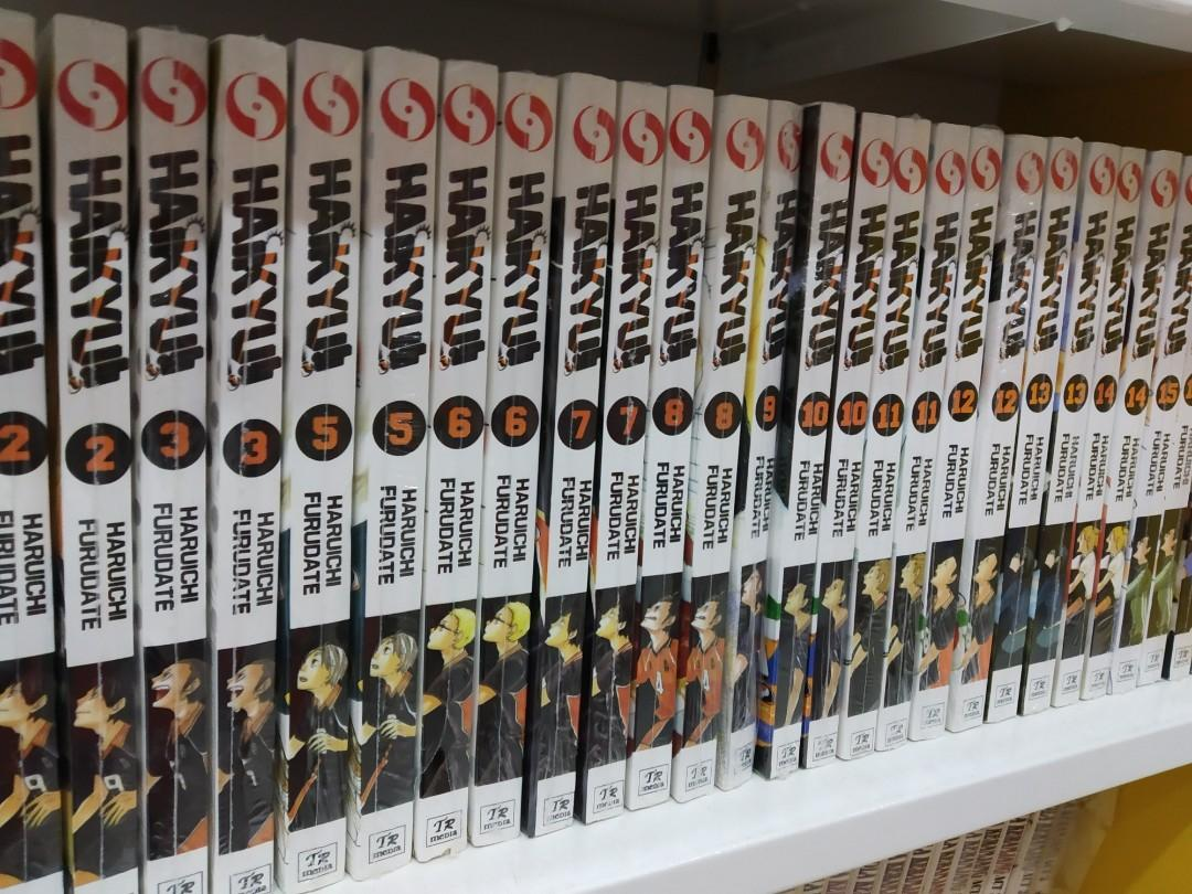 Komik for sale- my hero academia,on epunch man,attack on titan,haikyuu,assasination classroom,Tokyo ghoul,boruto,dragon ball,slam dunk,seven deadly sins