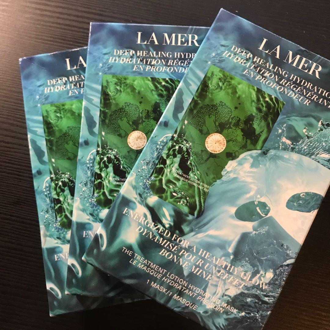 La Mer the treatment lotion hydrating mask (1 piece/ box)