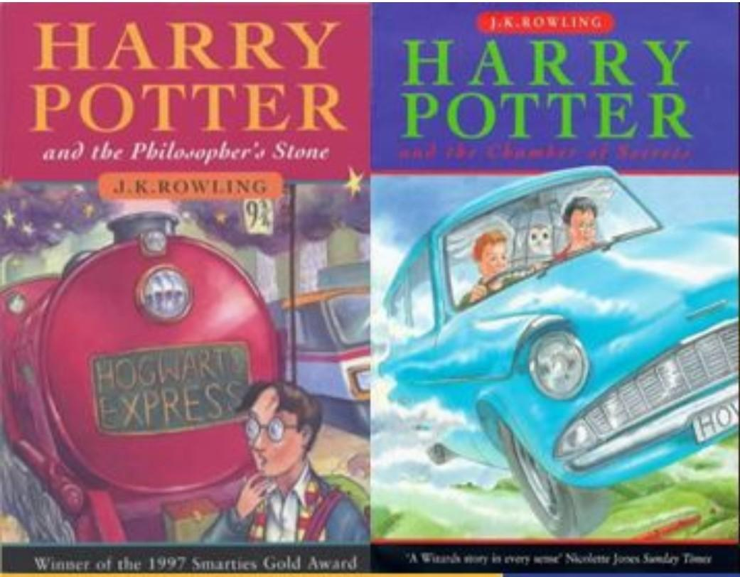 Looking for Hardbound - Harry Potter and the Philosopher's Stone and Chamber of Secrets