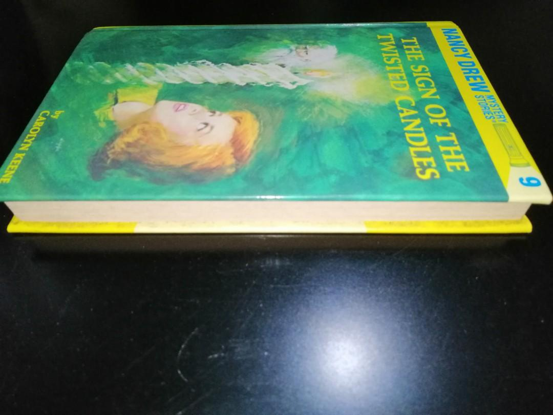 Nancy Drew Mystery Stories #9 by Carolyn Keene (The Sign of the Twisted Candles)